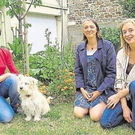 Nathalie, Thérèse et Justine