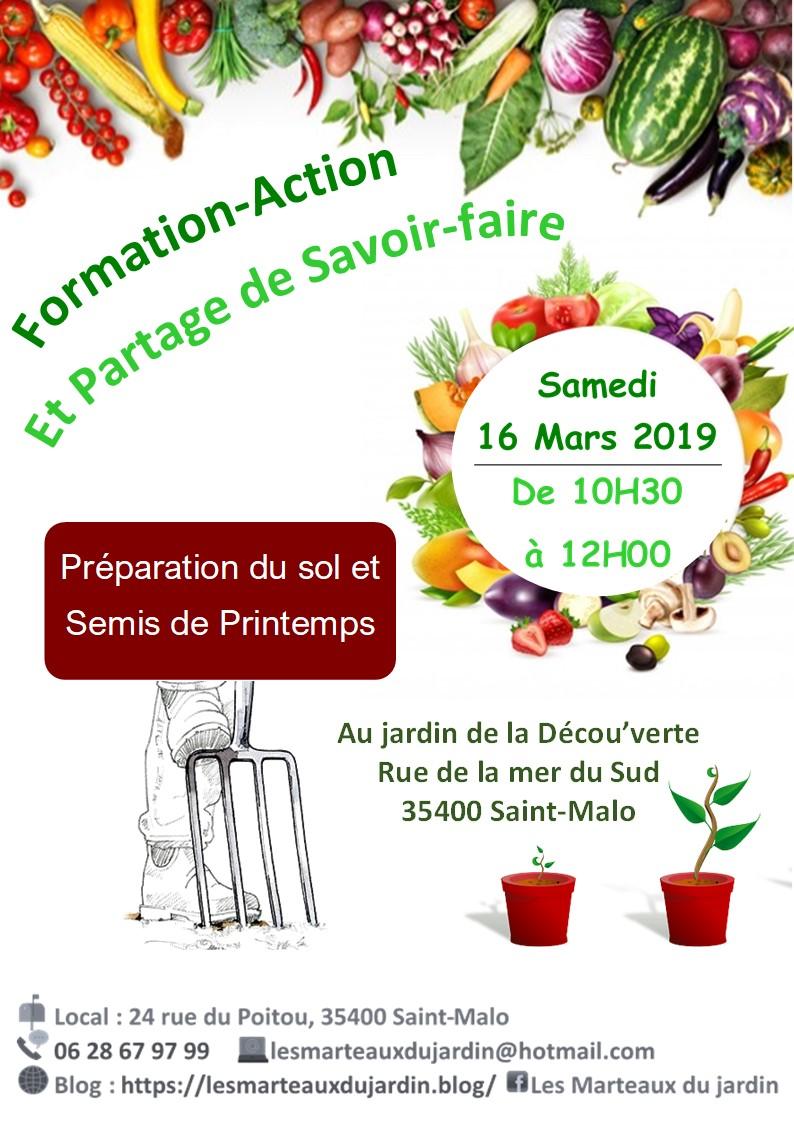 16.03.2019 Semis et préparation terre