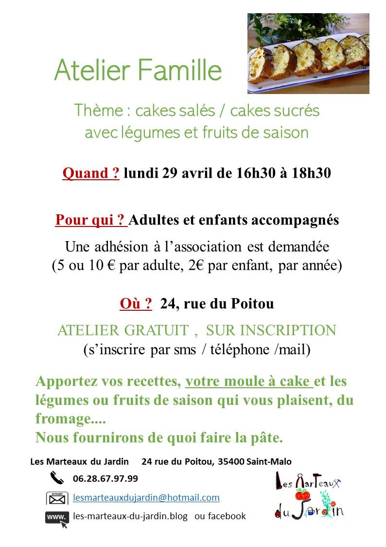 atelier CAKES