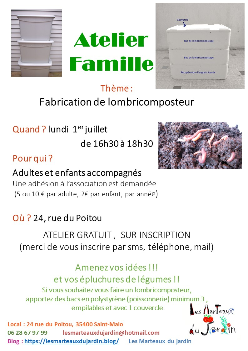 atelier lombricomposteur