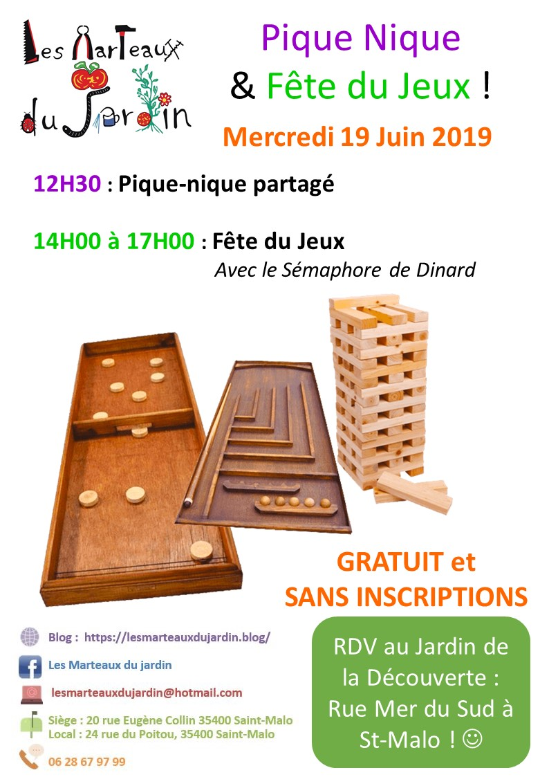 Fête du Jeu - 19 Juin 2019